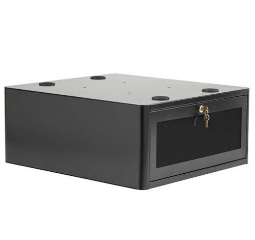 boitier pc s curis pour pied support cran t lescopique. Black Bedroom Furniture Sets. Home Design Ideas