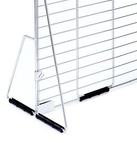 grille d 39 exposition pied pour grille seule. Black Bedroom Furniture Sets. Home Design Ideas