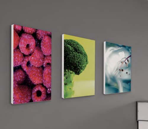 toile tendue sur cadre aluminium format 70x100. Black Bedroom Furniture Sets. Home Design Ideas